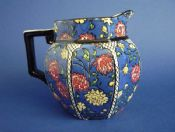 Lovely Royal Doulton 'Persian Anemone' Series Art Deco Octagon Jug c1920
